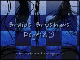 Braids brushes set by d0gma