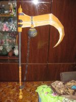 Phantomon scythe papercraft by Zimberdum