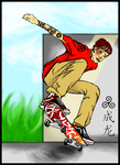 Skateboarding by xXWorld-DestroyerXx