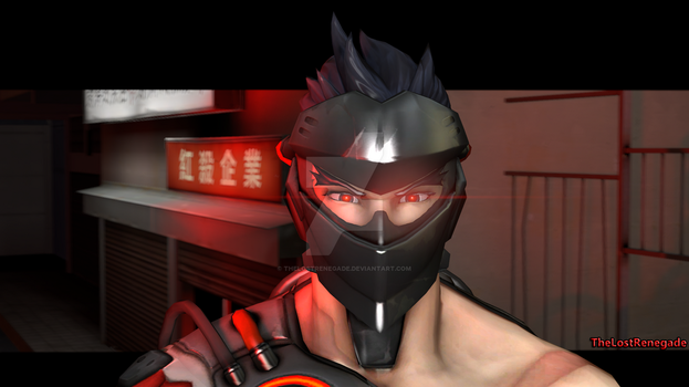 (SFM) BlackWatch Genji Poster by TheLostRenegade