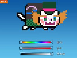 Hatter Nyan Cat by JudytaDragon