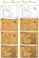 Tuto Step by step TREASURE MAP by ECVcm