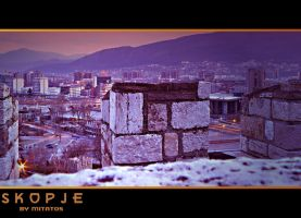 Skopje View from the Tower by mitatos