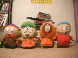 South Park Plush by Danerboots