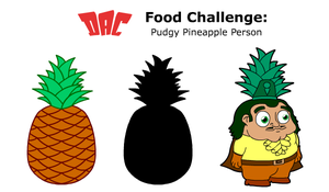 DAC: Pudgy Pineapple Person by HampoArgent