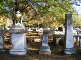 Autumn Cemetery 26 by DKD-Stock