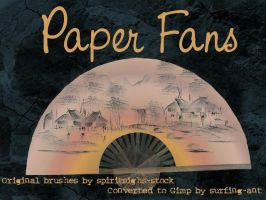 Paper Fans by Spiritsighs by surfing-ant