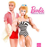 Muscle Beach Barbie by areaorion
