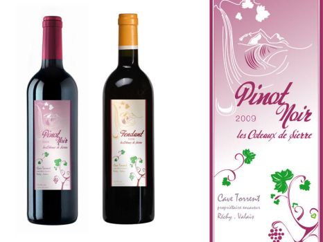 wine label by paroledemoi