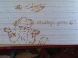 Diary Doodle 5: Whaddaya Gonna Do? by TheDragonInTheCenter