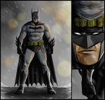 Batman by SamGreenArt