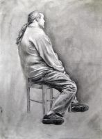 Life Drawing by Masca-Ridens