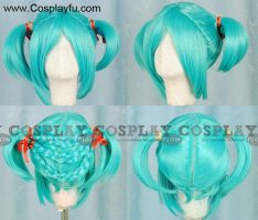 Miku Wig from Vocaloid by Cosplayfu