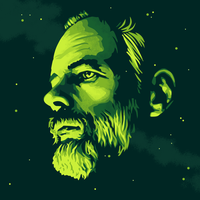 Philip K Dick by monsteroftheid