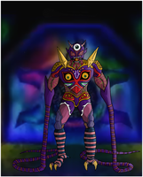 Majora's Wrath Colored by kuhu