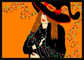 Agatha the Witch.. by ladyjart