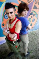 Far Cry 3 cosplay - Brody and Vaas by LadyofRohan87