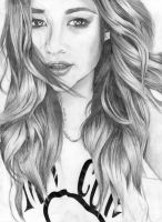 Shay Mitchell Drawing by AmateurDrawer