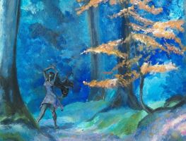 Forest Dance by Abbyanna