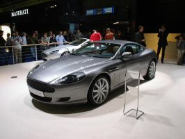 Astin Martin DB9 by kaasjager