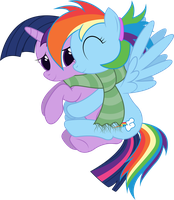 Dashie Wants Hugs Too by joeyh3