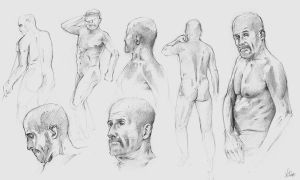 Figure Drawing Class 4 by AaronGriffinArt