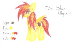 Fire Star by Acridie