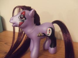 No Face Ghibli Custom My Little Pony by lilacamy931