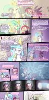Princess Celestia's Love Letter by Ghost-Peacock
