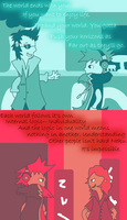 Feel the People, Hear the Voices. by Sackninja