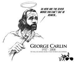George Carlin comm. - hi res by the-biggest-lebowski