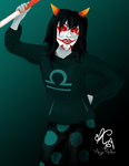 Terezi Juggalo!Stuck by Angie-Andrea