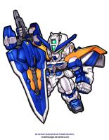 SD Astray Blue Frame Second L by MobileSuitGio