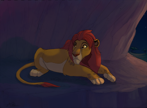 Kion's Outlook by BlazingBlackMage