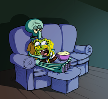 SBSP - Movie Night by bradsgurl