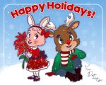 Happy Holidays Card by danee313