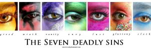 the seven deadly sins by Vive-Le-Rock