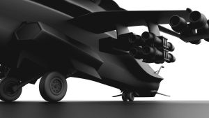 Future Helicopter - weapons by forgedOrder