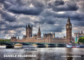 London Photography Calendar by dandelgrosso
