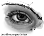 Black And White Eye by GradientKing