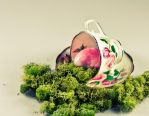 Spring Teacup by Tuftless