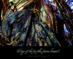faery wings wall paper by S0WIL0