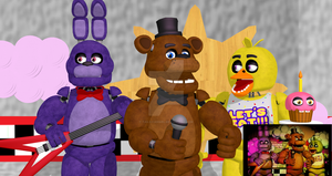 On Stage ( FNAF MMD) by tails-fangirl