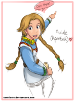 Auriale sketch by tonifasic