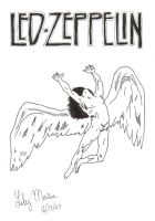 Led Zeppelin by Lily-Marie