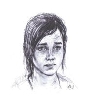 Last of Us Ellie sketch by Wisdom-Thumbs
