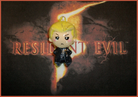 Chibi-Charms: RE5 Wesker by MandyPandaa