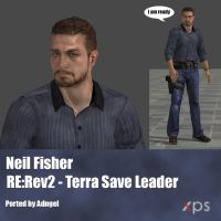 Neil Fisher RE:Rev2 Terra Save Leader by Adngel