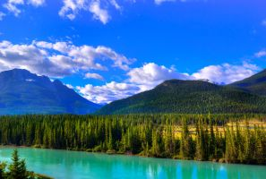 Elbow River by Qels