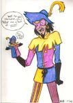 Clopin and his Puppet by KK-Ska